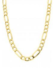 Złoty łańcuszek figaro