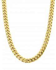Masywny złoty łańcuszek pancerka
