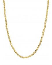 Złoty oryginalny pleciony łańcuszek