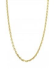 Złoty łańcuszek ankier 45 cm