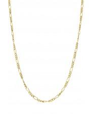 Złoty łańcuszek figaro 45 cm