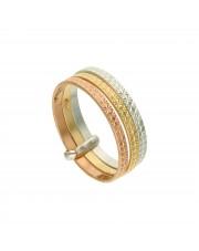 Potrójny złoty pierścionek