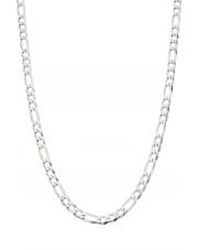 Srebrny łańcuszek figaro 60 cm