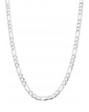 Srebrny łańcuszek figaro