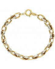 Piękna elegancka złota bransoletka