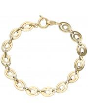 Złota bransoleta