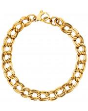 Złota damska bransoleta