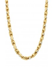 Oryginalny gruby złoty łańcuch Gucci