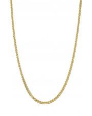Złoty łańcuszek lisi ogon 50cm