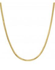 Złoty łańcuszek żmijka linka 50cm