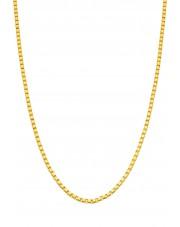 Złoty łańcuszek kostka