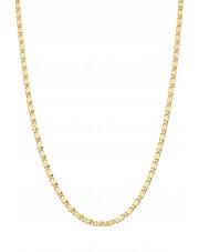 Ciekawy złoty łańcuszek 50 cm