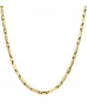 Złoty solidny łańcuszek 55 cm