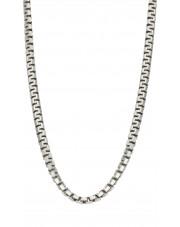 Srebrny łańcuszek bizantyjski 65 cm