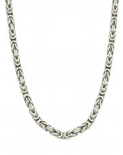 Srebrny męski łańcuszek królewski 60 cm