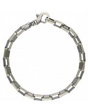 Srebrna bransoleta pokryta oksydą