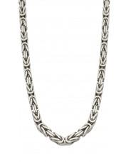 Srebrny łańcuszek królewski 60 cm