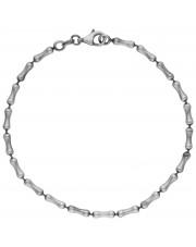 Modułowa srebrna bransoleta