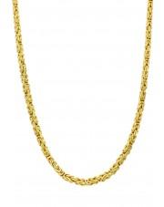 Masywny złoty łańcuszek
