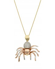 Złoty pająk tarantula ptasznik
