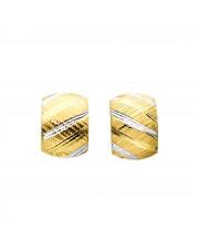 Piękne złote kolczyki