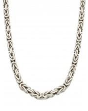 Srebrny łańcuszek królewski 65 cm