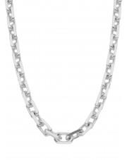 Masywny srebrny łańcuszek ankier