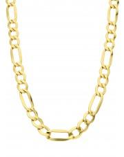 Złoty łańcuszek figaro 60 cm