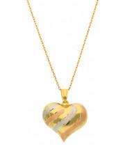 Duże złote serce