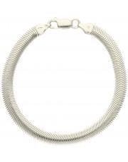 Niezwykła srebrna bransoleta