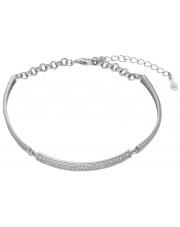 Modułowa srebrna bransoleta z cyrkoniami