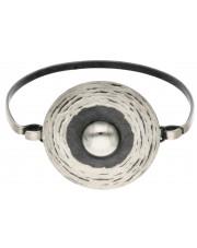 Srebrna bransoletka w stylu nowoczesnym