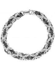 Duża srebrna bransoleta