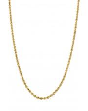 Złoty łańcuszek kordel 50cm