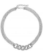 Okazały srebrny naszyjnik