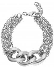 Okazała srebrna bransoletka