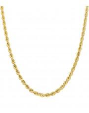 Złoty łańcuszek kordel