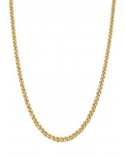 Złoty łańcuszek lisi ogon 50 cm