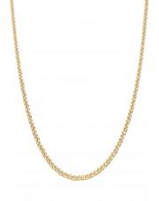 Złoty łańcuszek gruby lisi ogon 50 cm