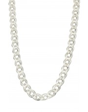 Srebrny łańcuszek galibardi 55 cm