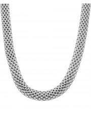 Masywny srebrny łańcuszek