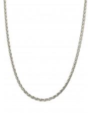 Srebrny łańcuszek lisi ogon 50 cm