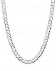 Srebrny łańcuszek pancerka 50cm