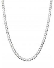 Srebrny łańcuszek pancerka 45 cm