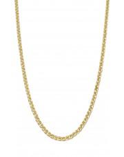 Złoty łańcuszek lisi ogon 55 cm