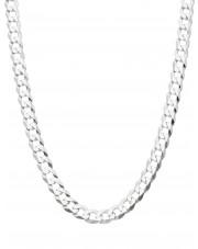 Srebrny łańcuszek pancerka 55 cm 0,5 cm