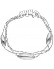 Oryginalna srebrna bransoleta
