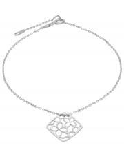 Bransoleta srebrna z przywieszką