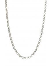 Srebrny łańcuszek rolo 80 cm