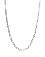 Srebrny łańcuszek rolo 60 cm